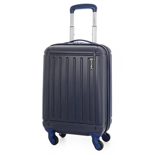 Cities 4Wheel Ryanair Hardshell 55x35x20cm 2.5Kg Navy Blue