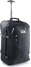 Cabin Max 1.7 Kg TrolleyBackpack Black 55x40x20cm