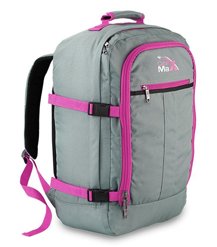 Cabin Max Backpack 55x40x20cm 0.8Kg Gray Pink