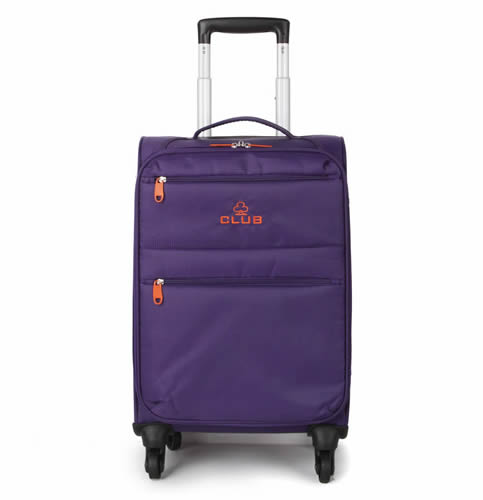 London Club Classic 4Wheel 55x35x20cm 1.8Kg Purple