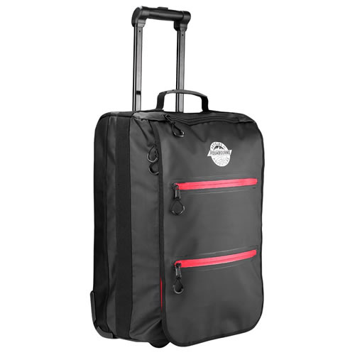 Adventure Water Resistant Hand Luggage Trolley Suitcase 55x35x20cm