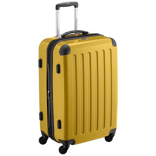 Hauptstadkoffer Medium Hard Shell Yellow 65x41x26cm