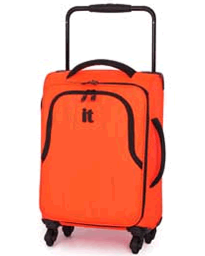 Luggage Worlds Lightest Small 4 Wheel Suitcase Fluorescent