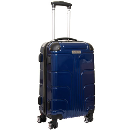 Luggage Zone Executive 55x35x20cm 2.9Kg Navy Blue