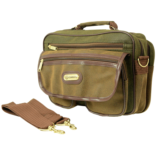 Olive Tan Suede Ryanair 2nd Carry On Cabin Bag