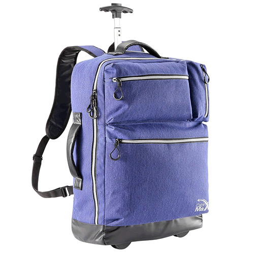 Cabinmax Trolley Backpack 55x40x20cm DenimBlue