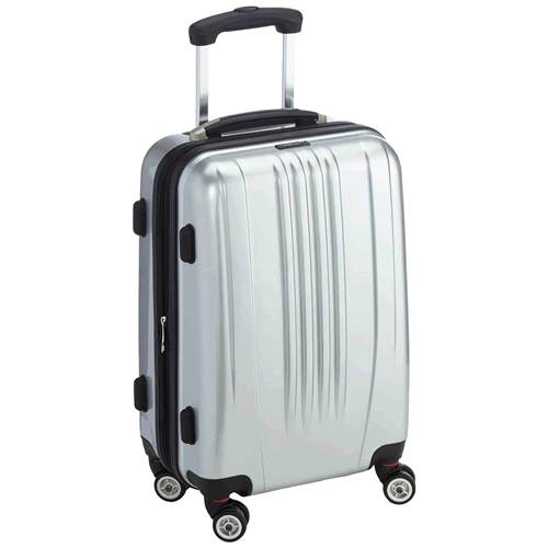 Packenger Premium Suitcase Trolley Hard Case Stone Silver