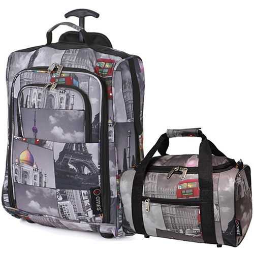 Perfecto Ryanair Maximum 2 CabinBag Set Cities