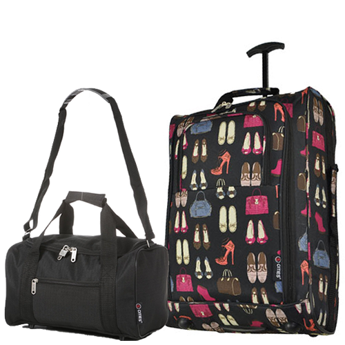 Perfecto Ryanair Maximum 2 CabinBag Ladymax Black