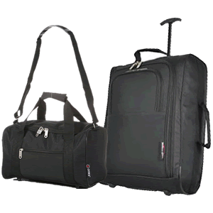 Perfecto Ryanair Maximum 2 CabinBag Set Black