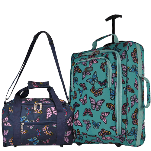 Perfecto Ryanair Maximum 2 CabinBag Butterfly Mix