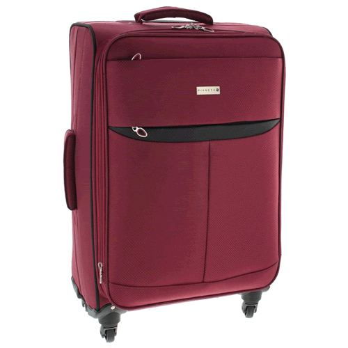 Pianeta Suitcase Luggage Travel Soft Luggage Trolley