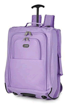 Skymax Lilac 5Cities Trolley Backpack 55x40x20cm 1.5Kg