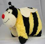 Smiling Buzzy Bee 2 in 1 Travel Toy Pillow Pet