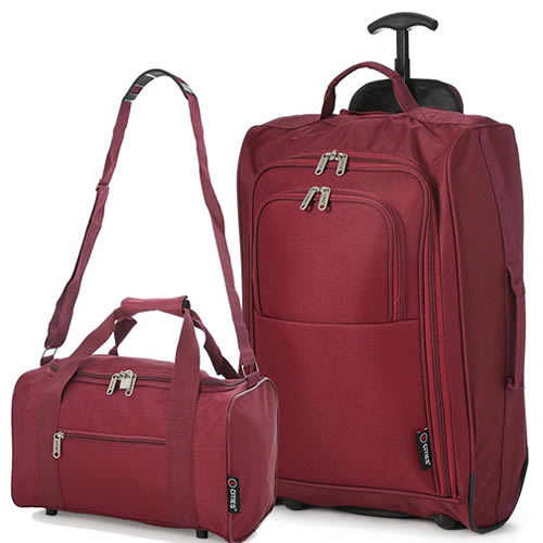 Perfecto Ryanair Maximum 2 CabinBag Set Smart Burgundy