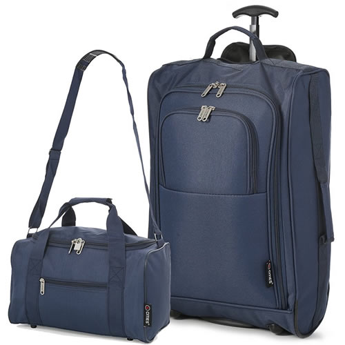 Perfecto Ryanair Maximum 2 CabinBag Set Smart Navy