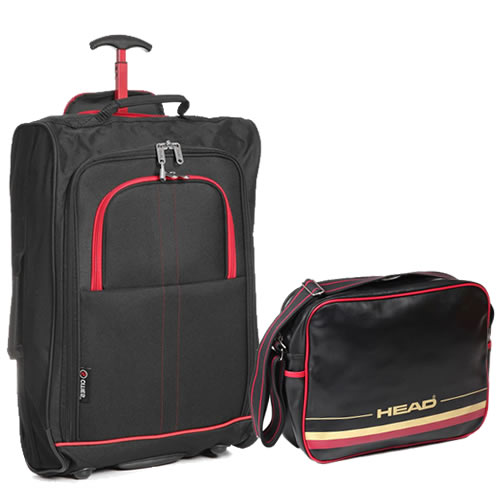 Perfecto Ryanair Maximum 2 CabinBag Set Tribeca