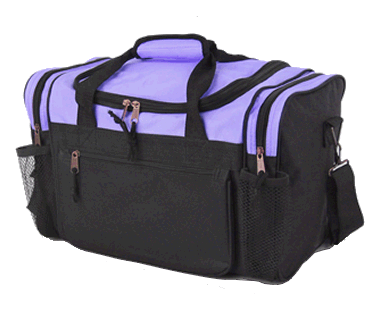 UnderSeat Holdall 6Pockets 40x25x20cm Purple