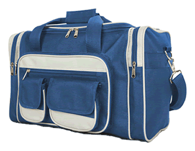 UnderSeat Holdall 7Pockets 40x25x20cm Blue